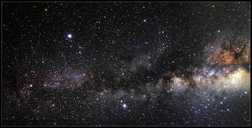 Epic Milky Way gaming mat
