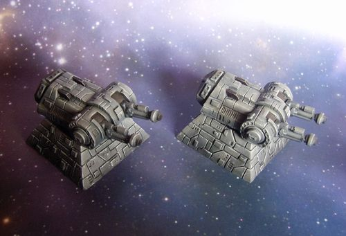 Star Base Destroyer Turrets