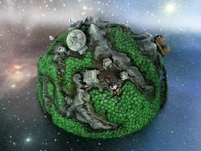 Jungle battlefield large planet - Plante jungle ...