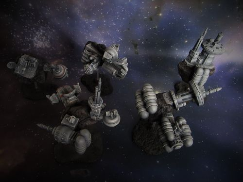 Asteroid Space Stations