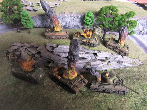 15mm Tank Damage markers