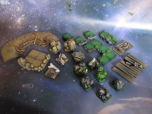 Badlands Skirmish set