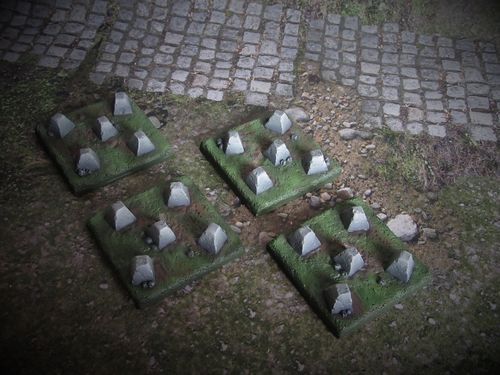 15mm WWII Dragons Teeth