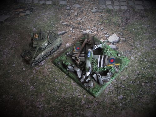 15mm WWII Downed Typhoon