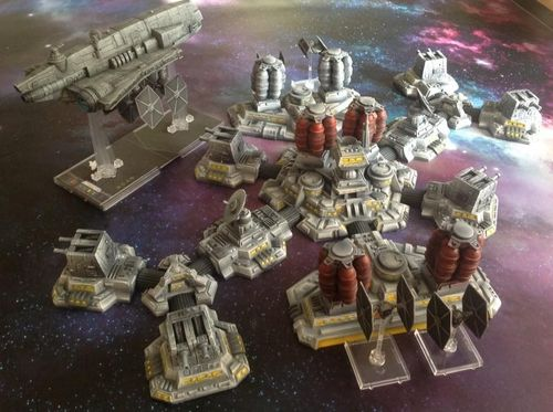 Alturi Modular Space Station Complete set